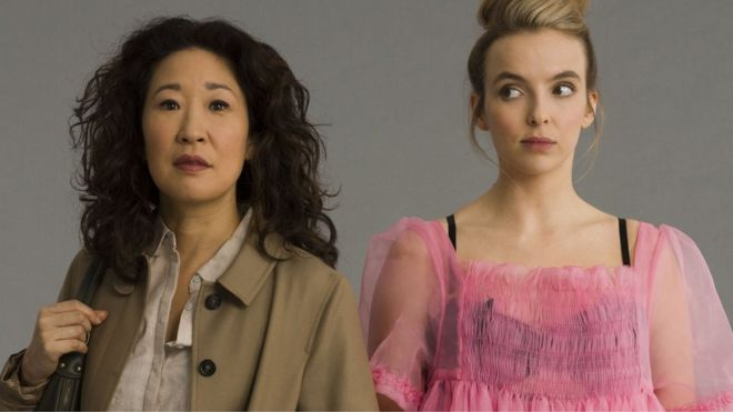 KILLING EVE + SEASON 2 + DAMIAN BROMLEY