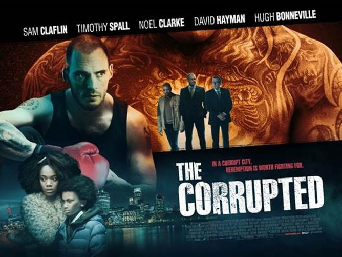 THE CORRUPTED + RICHARD MOTT